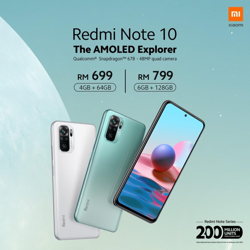 Siri Xiaomi Redmi Note 10 kini rasmi - skrin AMOLED 120Hz, Kamera 108MP pada harga dari RM 649 26