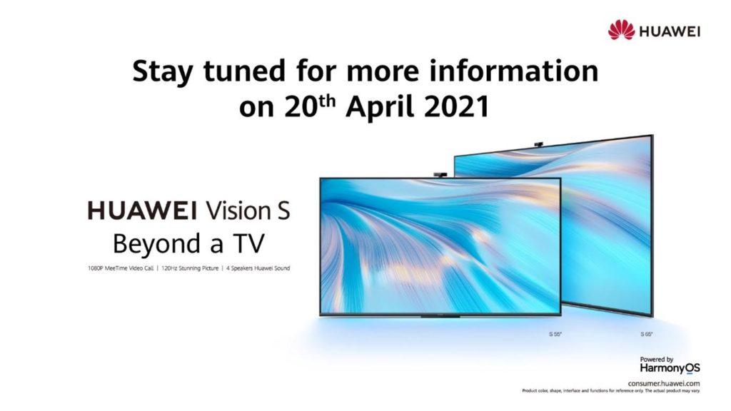 Televisyen HUAWEI Vision S Series akan dilancarkan di Malaysia tidak lama lagi 3