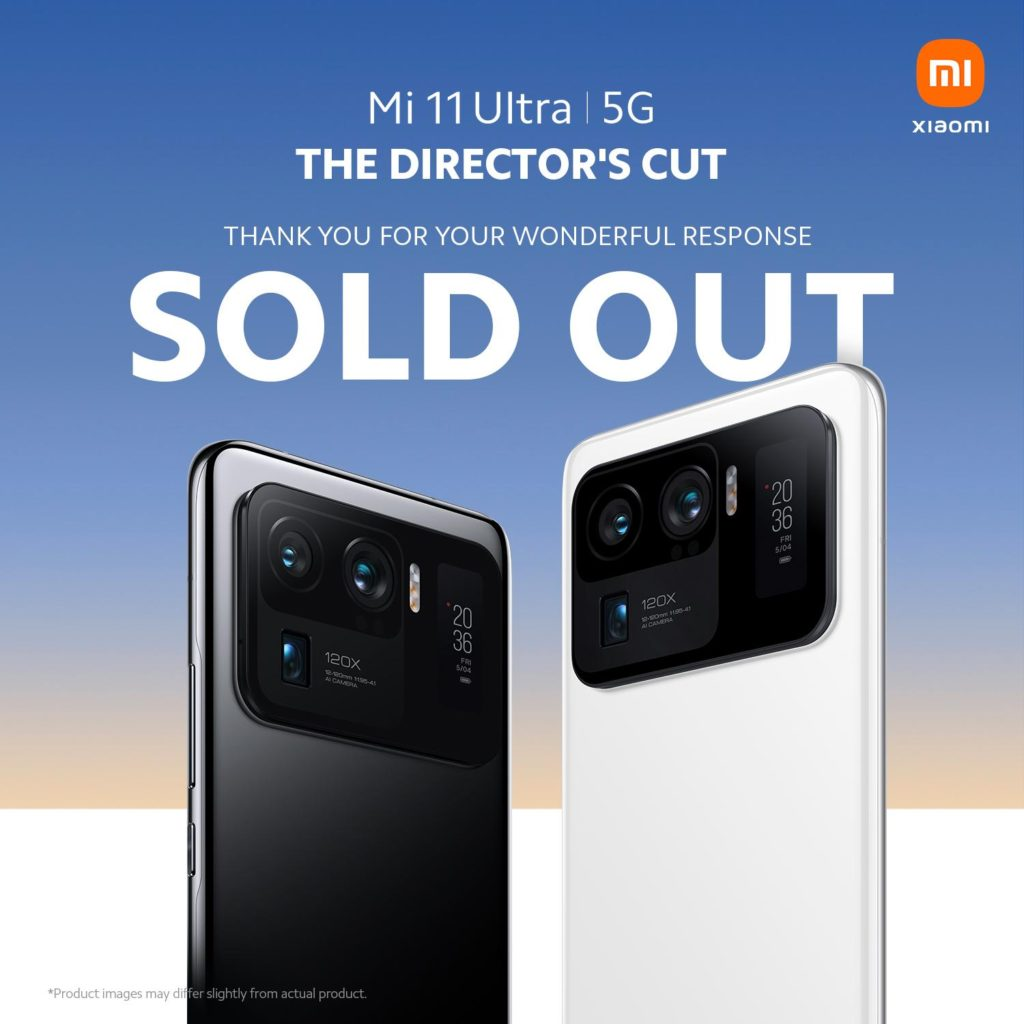 Stok Pra-tempahan Xiaomi Mi 11 Ultra di Malaysia habis didalam masa beberapa jam sahaja 3