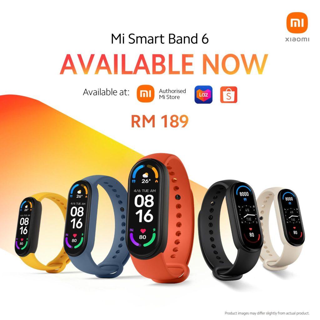 Xiaomi Mi Band 6 mula dijual pada 25 April- berharga RM 189 11
