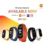Xiaomi Mi Band 6 mula dijual pada 25 April- berharga RM 189