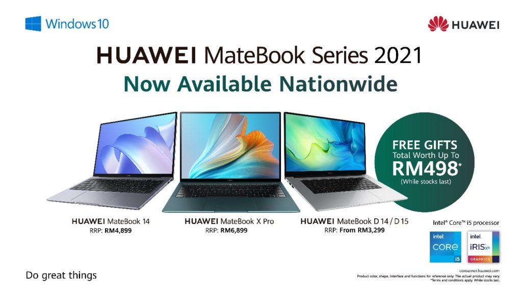 HUAWEI MateBook 2021 Series kini ditawarkan di Malaysia pada harga dari RM 3,299 sahaja 19