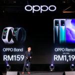 Oppo Reno5f kini di Malaysia pada harga RM 1,199 sahaja