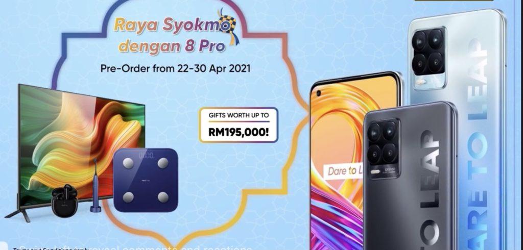 realme 8 Pro kini rasmi di Malaysia pada harga RM 1,299 sahaja 14