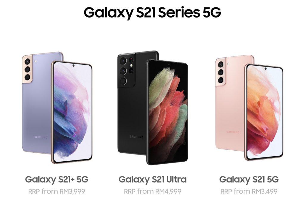Beli telefon pintar siri Samsung Galaxy S21 dan dapatkan dua aksesori Samsung pada harga RM 21 sahaja 5