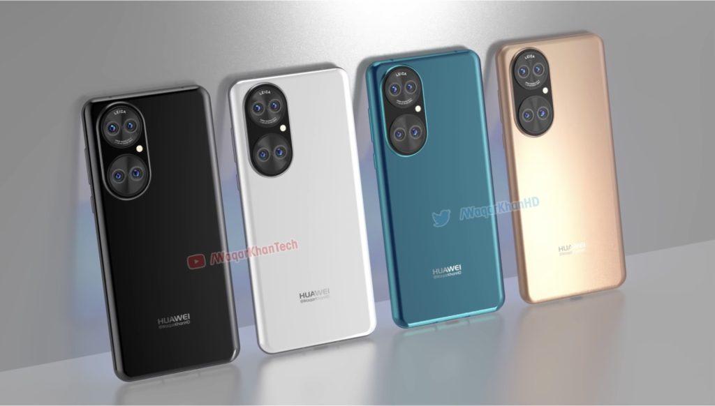 Gambar Lakaran Huawei P50 mendedahkan reka bentuk panel belakang yang unik 12