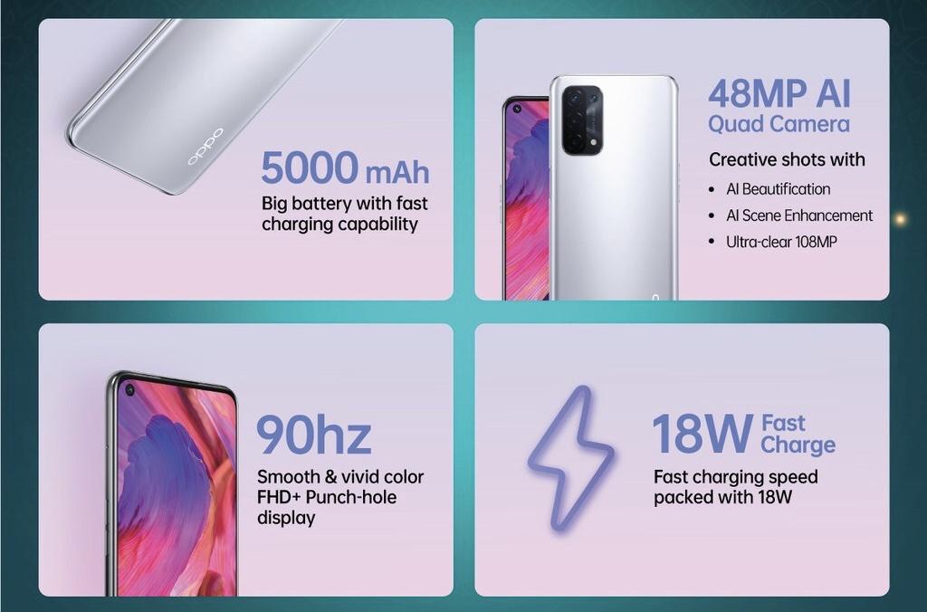 OPPO A74 5G kini rasmi di Malaysia - Eksklusif di Shopee Mulai 5 Mei ini Pada Harga RM 999 10