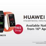 HUAWEI Band 6 mula ditawarkan di semua stor HUAWEI Experience – percuma satu tali jam tambahan