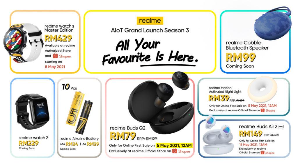 realme Malaysia lancarkan 7 produk AIoT- semua yang anda perlu tahu 17