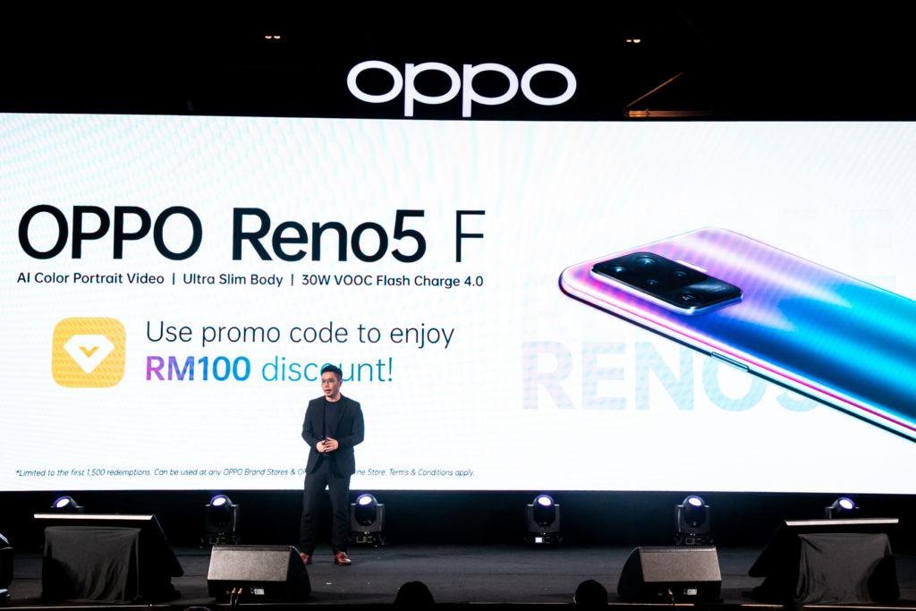 Oppo Reno5f kini di Malaysia pada harga RM 1,199 sahaja 16