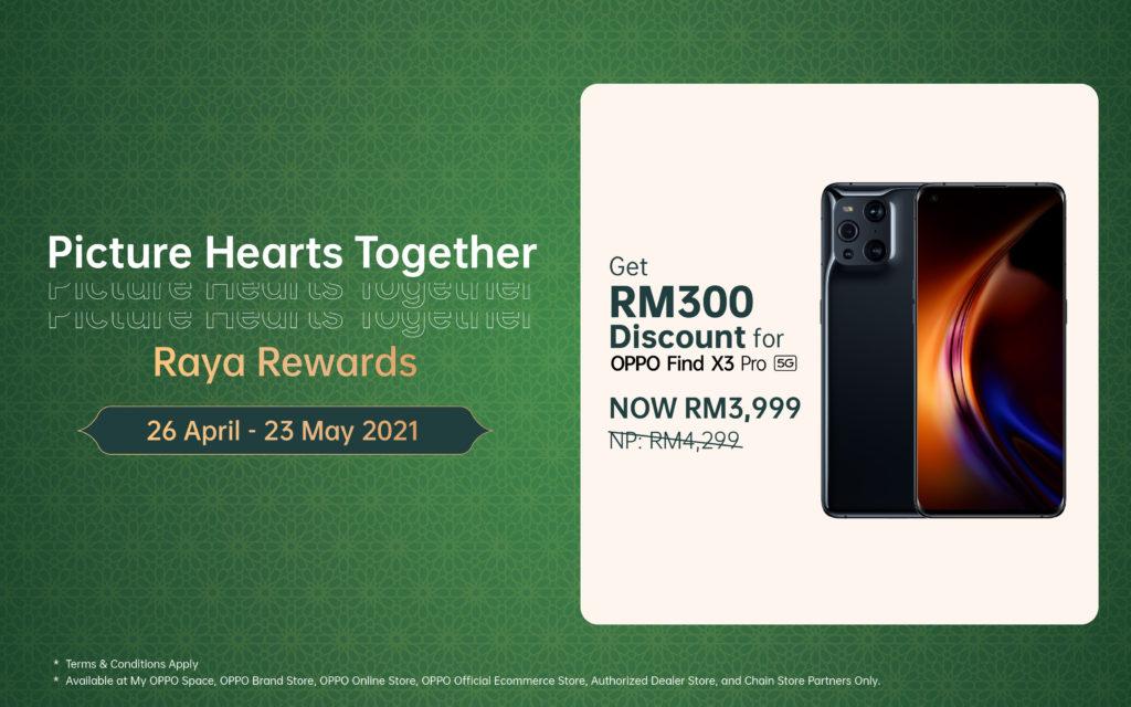 OPPO Find X3 Pro 5G kini ditawarkan pada harga RM 3,999 sahaja 3