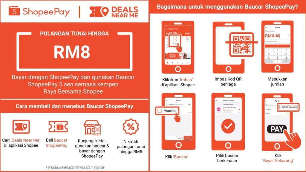 ShopeePay memperkenal ciri baharu 'Deals Near Me' - mendorong pengguna atas talian berbelanja di kedai-kedai offline 7