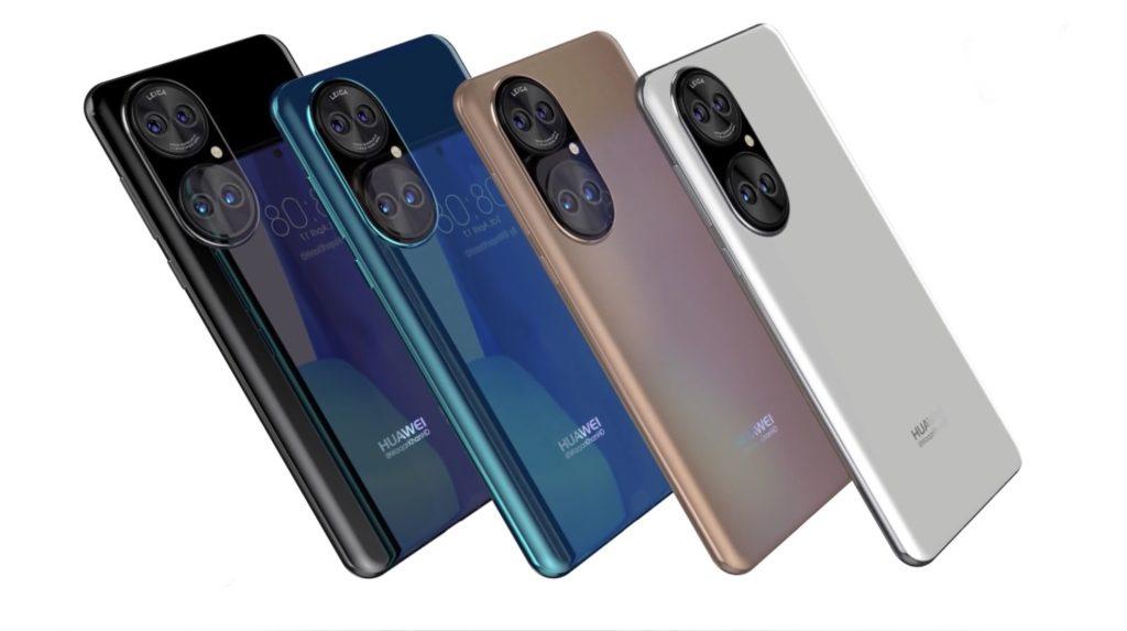 Gambar Lakaran Huawei P50 mendedahkan reka bentuk panel belakang yang unik 11