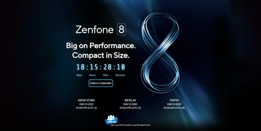 Asus ZenFone 8 Series akan dilancarkan secara rasmi pada 12 Mei 3