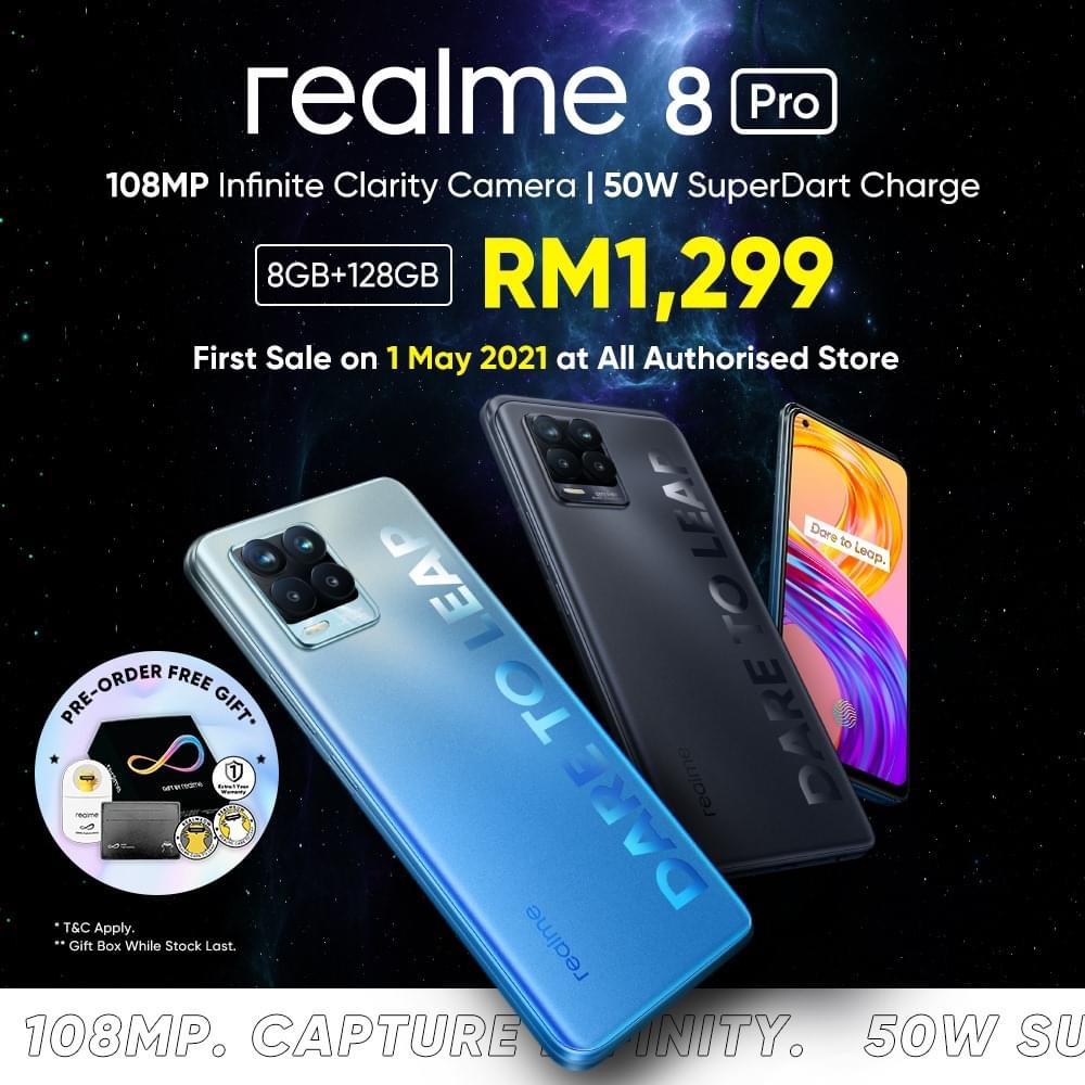 realme 8 Pro kini rasmi di Malaysia pada harga RM 1,299 sahaja 11
