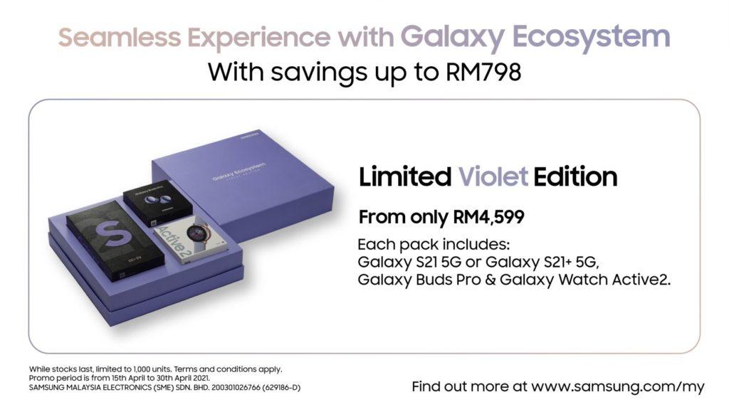 Pek Limited Violet Edition Galaxy Ecosystem kini ditawarkan dari RM 4,599 sahaja 6