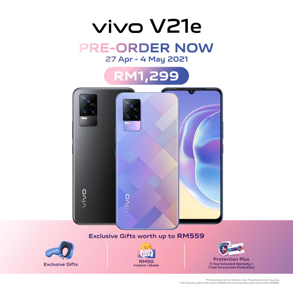 Vivo V21 dan Vivo V21e kini rasmi di Malaysia - dari RM 1,299 sahaja 11