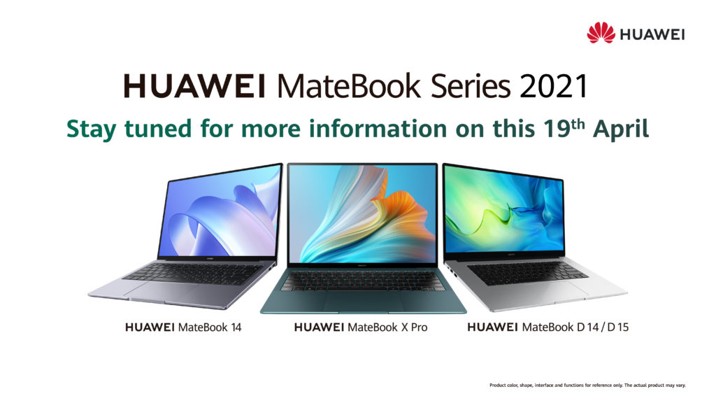 HUAWEI MateBook Series 2021 - 5 model MateBook akan dilancarkan di Malaysia 3