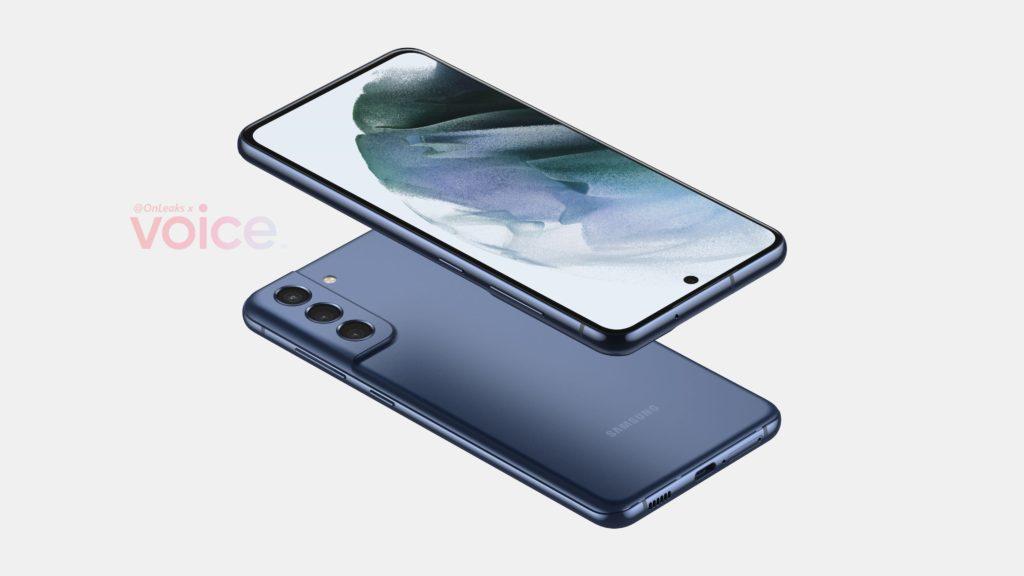 Reka Bentuk Samsung Galaxy S21 FE tertiris 8