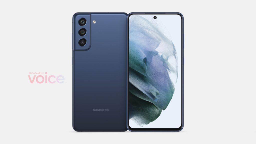 Reka Bentuk Samsung Galaxy S21 FE tertiris 9