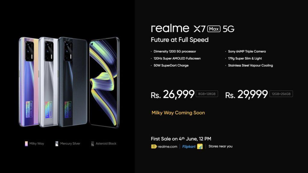 realme X7 Max 5G kini rasmi dengan skrin AMOLED 120Hz & cip Dimensity 1200 - harga dari RM 1,543 24