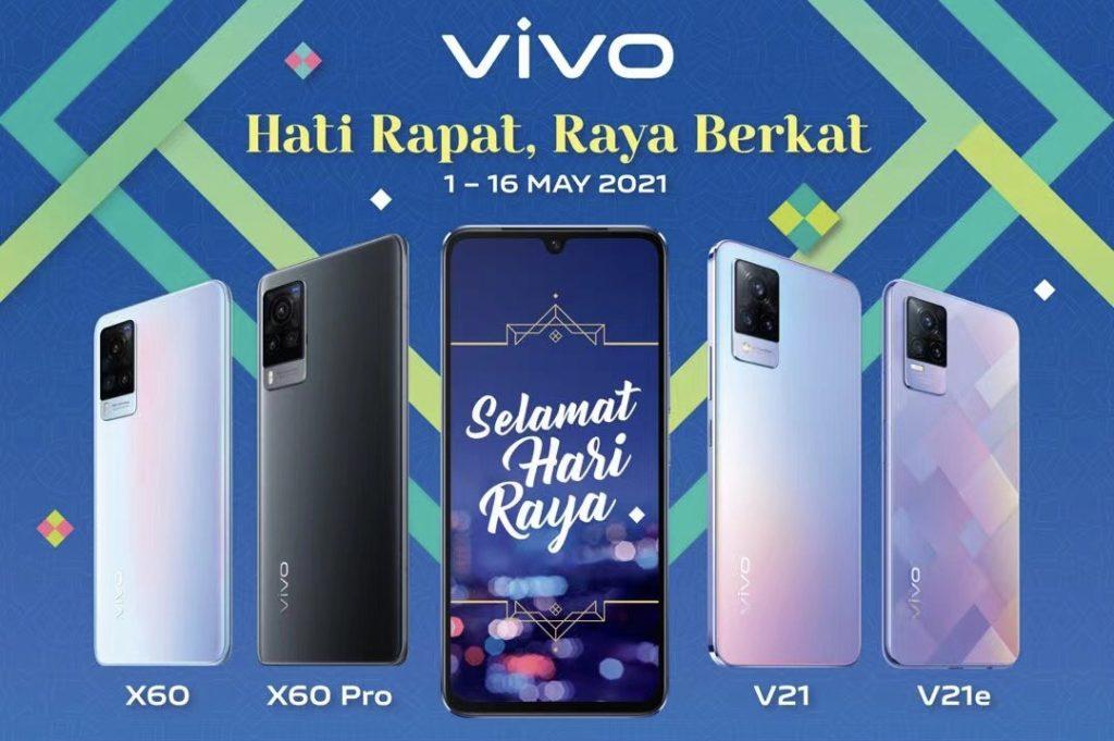 Kempen Vivo Hati Rapat , Raya Berkat tawar hadiah bernilai RM 68K dengan pembelian telefon pintar Vivo 5