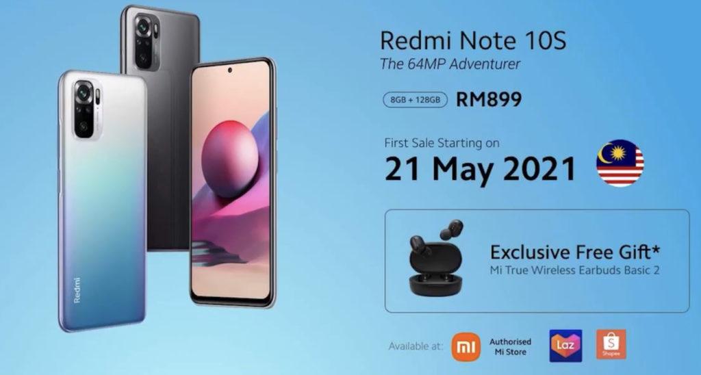 Xiaomi Redmi Note 10 5G dan Redmi Note 10S kini rasmi di Malaysia - harga dari RM 799 sahaja 15