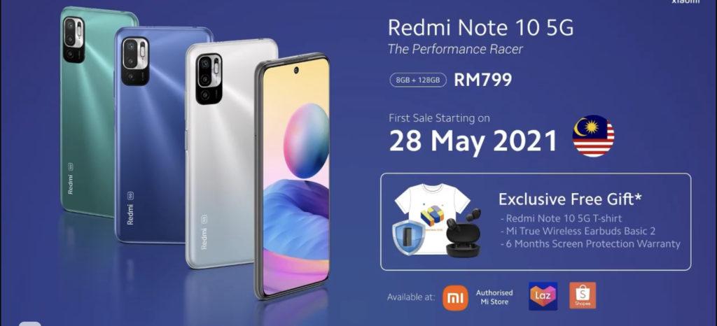 Xiaomi Redmi Note 10 5G dan Redmi Note 10S kini rasmi di Malaysia - harga dari RM 799 sahaja 13