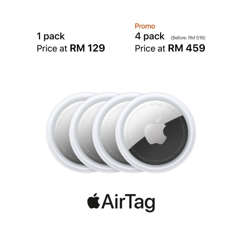 Apple AirTag kini ditawarkan di Malaysia pada harga dari RM 129 sahaja 3