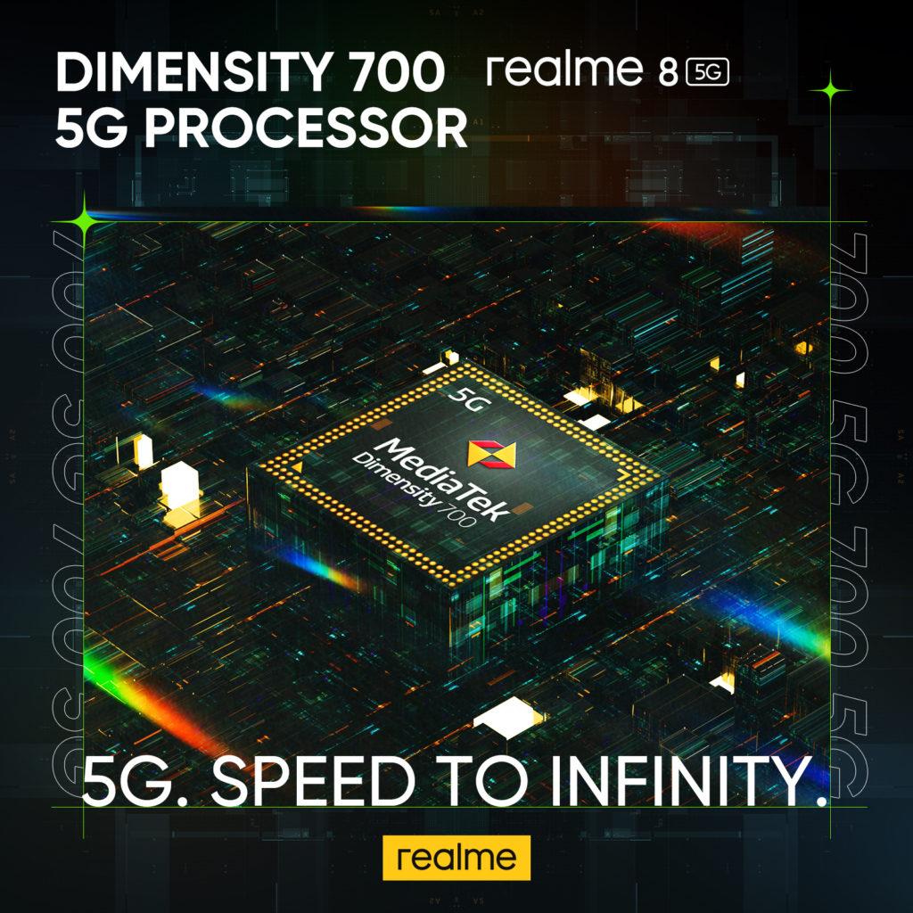 realme 8 5G - Telefon Pintar 5G Dengan Skrin Paparan 90Hz & Teknologi Inovatif Dynamic RAM Expansion Pada Harga Mesra Poket 25