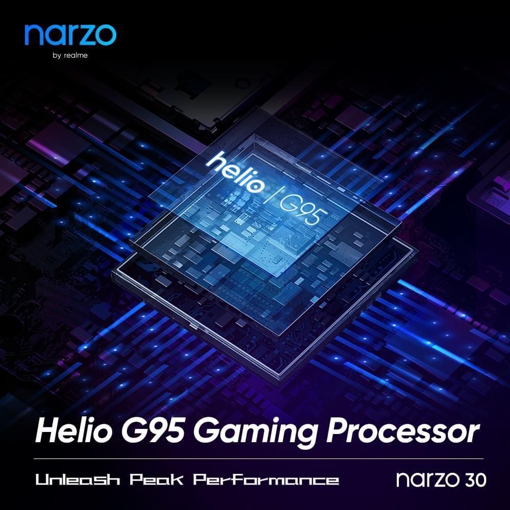 realme narzo 30 dengan cip Helio G95 akan dilancarkan di Malaysia pada 18 Mei ini 6