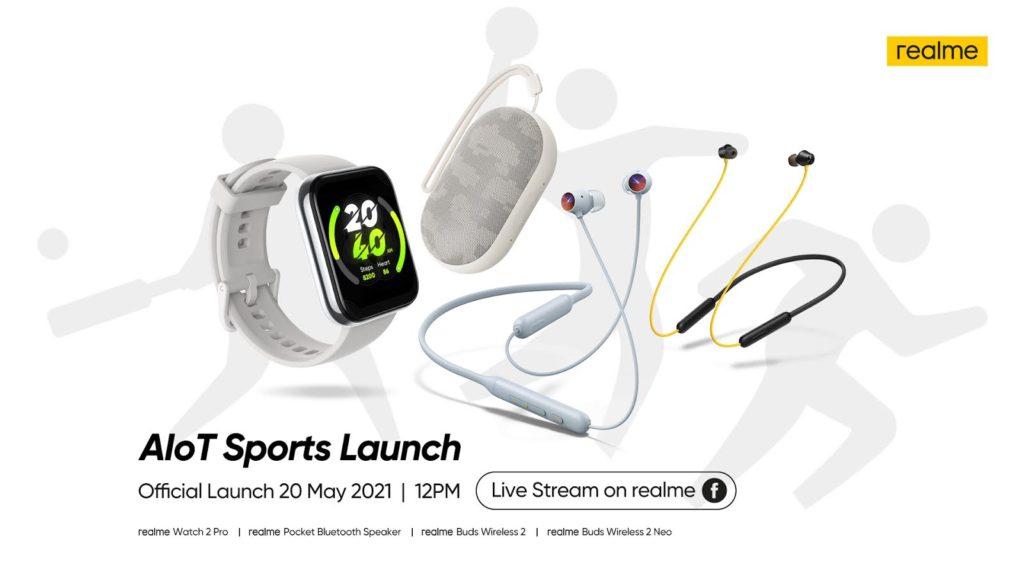 realme Watch 2 Pro, Buds Wireless 2 dan Buds Wireless 2 Neo akan dilancarkan di Malaysia pada 20 Mei ini 3