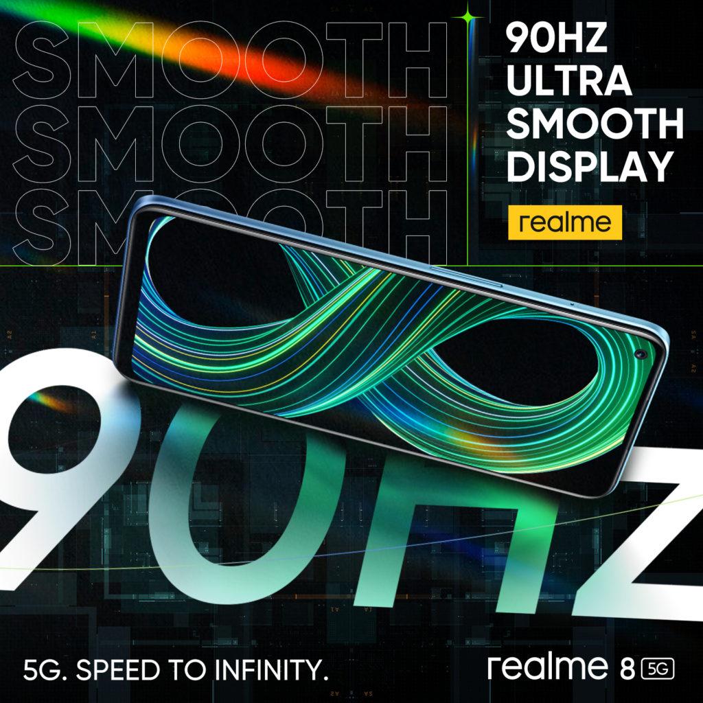 realme 8 5G - Telefon Pintar 5G Dengan Skrin Paparan 90Hz & Teknologi Inovatif Dynamic RAM Expansion Pada Harga Mesra Poket 26