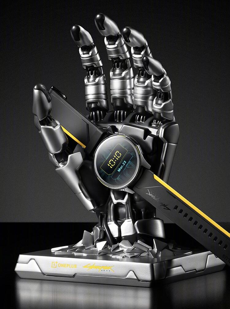 OnePlus Watch Cyberpunk 2077 dilancarkan - hadir dengan pengecas tangan robotik yang menarik 12