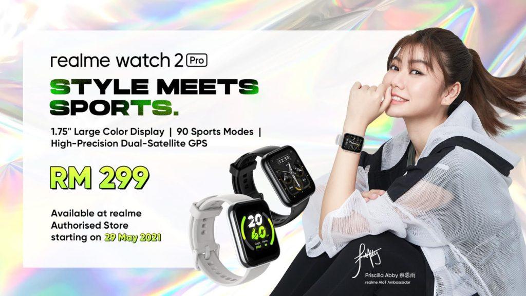 realme Watch 2 Pro akan mula dijual di Malaysia pada 29 Mei - RM 299 3