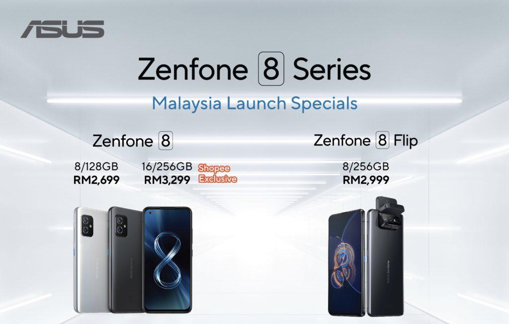 Asus Zenfone 8 Flip dan Asus Zenfone 8 kini rasmi di Malaysia pada harga dari RM 2,699 19