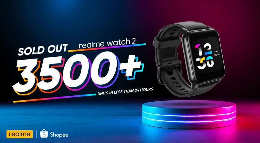 3,500 unit realme Watch 2 habis terjual dalam masa 24 jam 5
