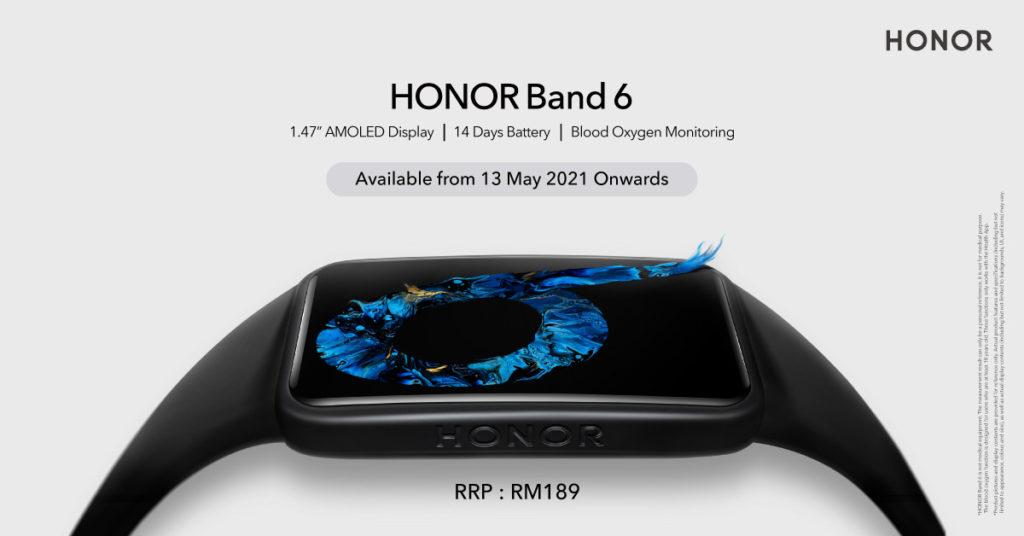 Honor Band 6 kini rasmi di Malaysia pada harga RM 189 sahaja 7