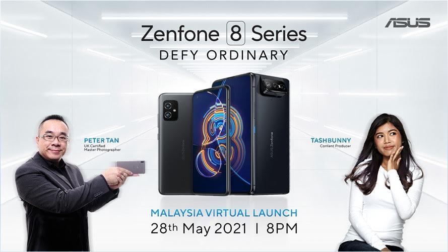 Asus Zenfone 8 Flip dan Zenfone 8 akan dilancarkan di Malaysia pada 28 Mei ini 9