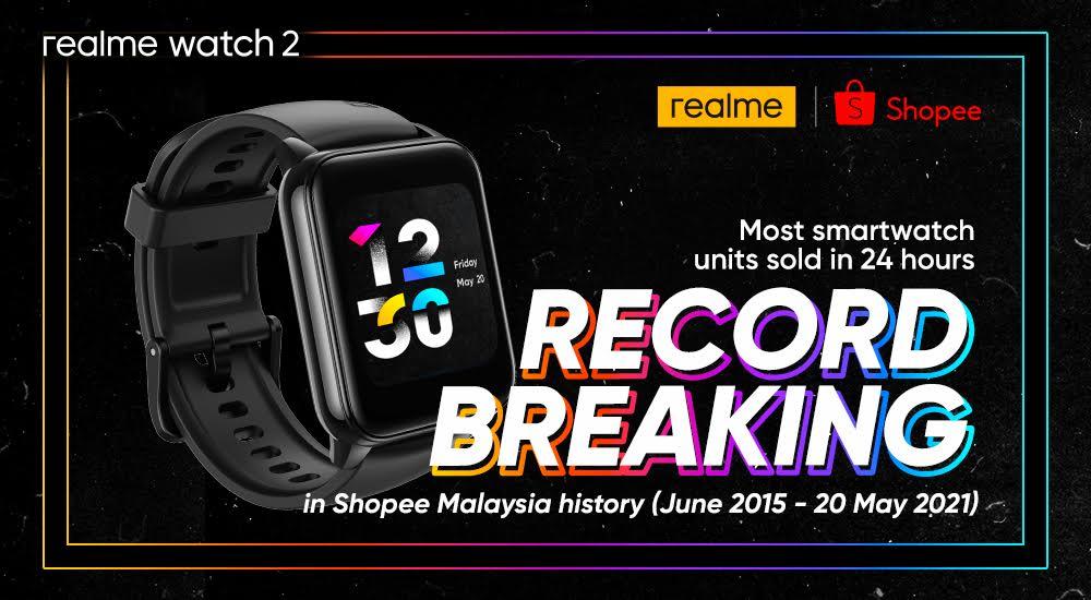 3,500 unit realme Watch 2 habis terjual dalam masa 24 jam 6
