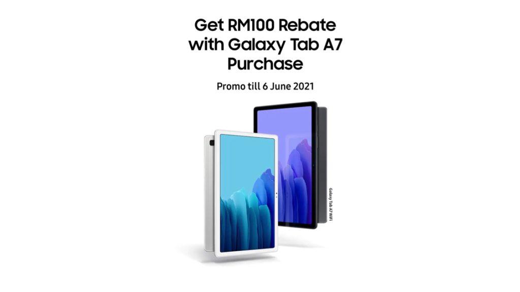 Samsung Galaxy Tab A7 WiFi kini ditawarkan pada harga RM 899 sahaja 7