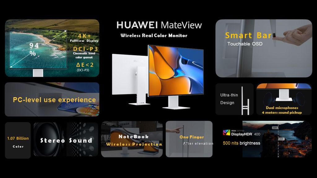 Monitor Gaming HUAWEI MateView GT 165Hz kini rasmi - Monitor MateView juga diumumkan 18