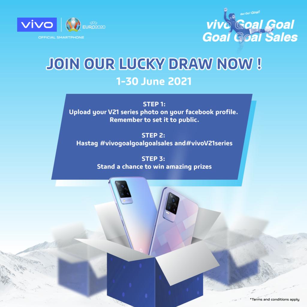 Vivo lancar kempen jualan Goal Goal Goal Sales - hadiah percuma dan promosi menarik bagi pembelian telefon pintar Vivo 8