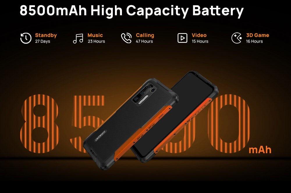 Doogee S97 Pro - telefon pintar lasak dengan bateri 8,500mAh kini ditawarkan pada harga sekitar RM 842 sahaja 26