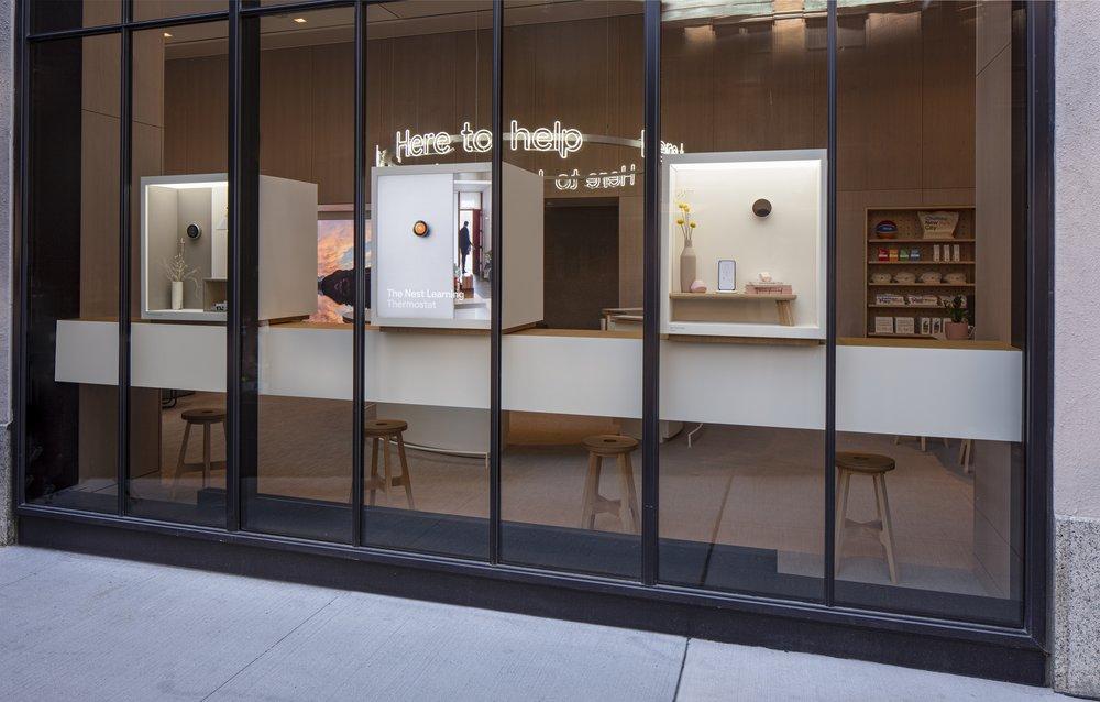 Google telah membuka stor fizikal pertama di New York 13