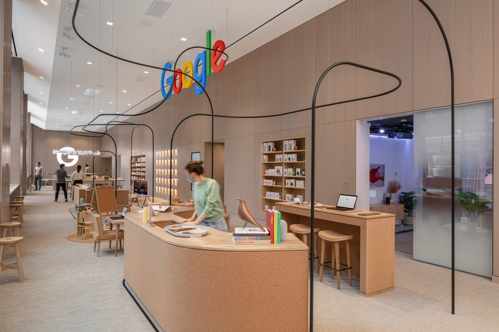 Google telah membuka stor fizikal pertama di New York 12