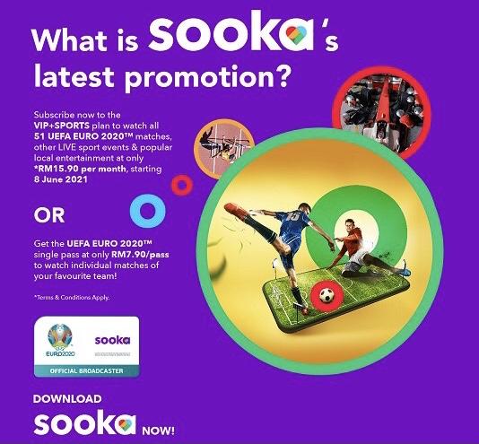 Astro melancarkan platform penstriman percuma Sooka - pelan VIP bermula dari RM 15.90 sahaja 6