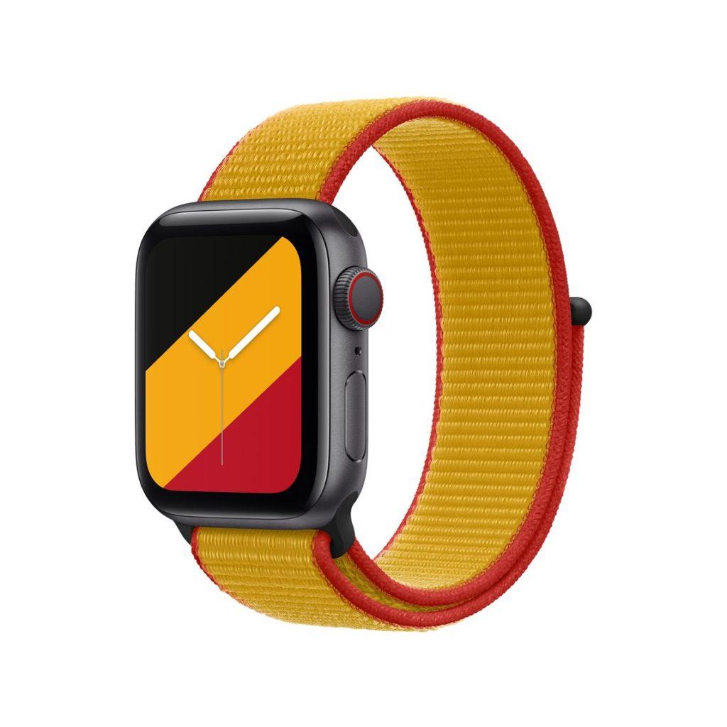 Tali jam Apple Watch edisi khas Olimpik bagi 22 Negara - berharga RM 199 9