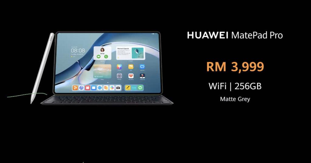 HUAWEI MatePad Pro 12.6 kini di Malaysia pada harga RM 3,999 - pra-tempahan kini dibuka 11