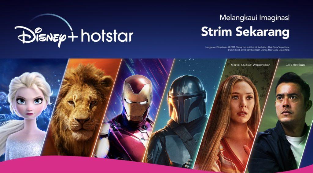 Disney+ Hotstar kini mula bersiaran di Malaysia - Hanya RM 5 sebulan untuk pelanggan Astro Movie Pack 5